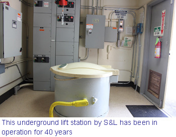 Smith & Loveless underground lift station