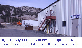 Big Bear City sewer facility